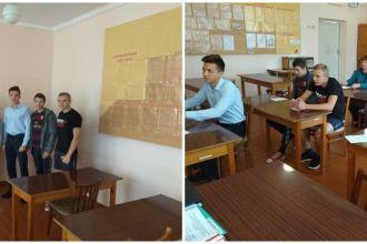 Встреча с выпускниками школ